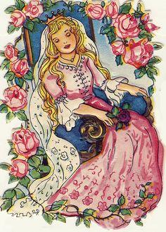 Sleeping Beauty... My mama calls me sleeping beauty, because she told me I look beautiful when I dream. lol
