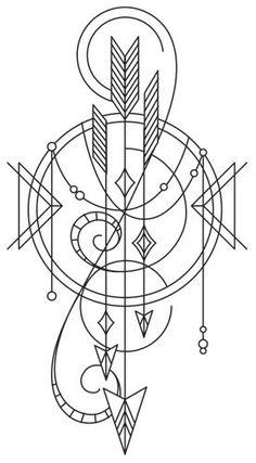 Talisman - Draping Arrows