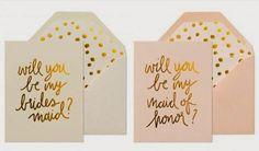 7 creative ways to ask your bridesmaids