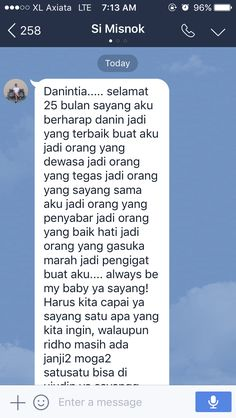 relationship chat indonesia Just woke up and see this cute message Cute Text, Relationship Goals Text, Cute Messages, Quotes Indonesia, Insta Story, People Quotes, Couple Pictures, Wake Up, Couple Goals