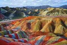Arquitectura simulada: los caprichos de mamá naturaleza - Parque Geológico de Zhangye, Gansu (China)   Galería de fotos 16 de 36   Traveler