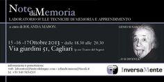NOTE DI MEMORIA – TEATRO DEL SEGNO – CAGLIARI-  15-16-17 OTTOBRE 2013