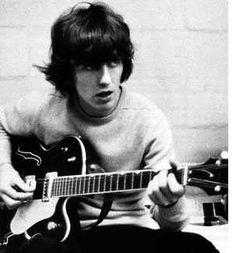 """George Harrison is tied with Paul Mccartney for """"Best British Man Ever"""". Love him!"""