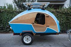 Teardrop Camper Plans, Teardrop Trailer, Camper Caravan, Survival Hacks, Vintage Trailers, Build Your Own, Volvo, Recreational Vehicles, Outdoor Gear