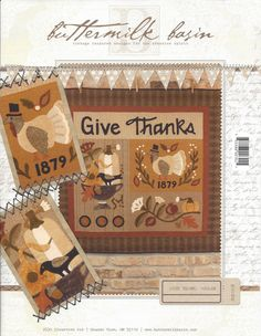 Give Thanks Wall Quilt