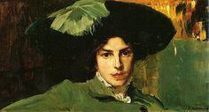 Joaquin Sorolla - Maria With Hat
