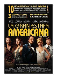 La Gran estafa americana [Vídeo-DVD] / una película de David O. Russell