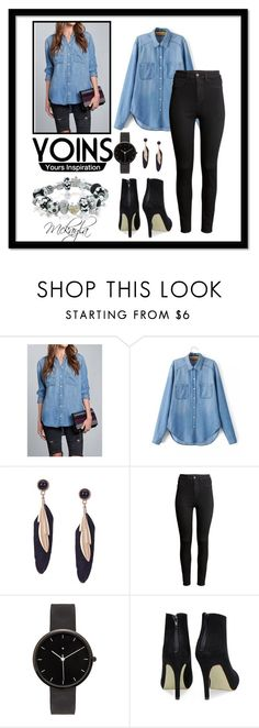 """""""Yoins contest Entry"""" by mickey733 on Polyvore featuring H&M, I Love Ugly, Bling Jewelry, wardrobebasics and yoins"""