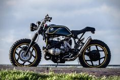 Ride Flipping! BMW R65 Riot Starter By IWC Motorcycles