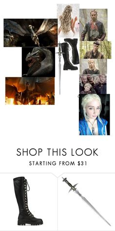 """Daenerys and her little sister making an alliance with the Vikings"" by loveanimalsandmusic18 ❤ liked on Polyvore featuring Altuzarra and S.W.O.R.D."