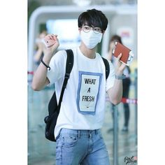 Kim Seokjin Koreans ❤ liked on Polyvore featuring bts, kpop, bts - jin, jin and people