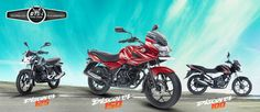 Bajaj Auto - a leading manufacturers of #motorcyclesinIndia. Check out the prices of motorcycles in India at - http://www.bajajauto.com/