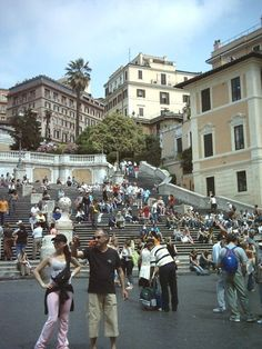 What to see and places to visit in Rome, Italy. Image: Piazza di Spagna and the Spanish Steps