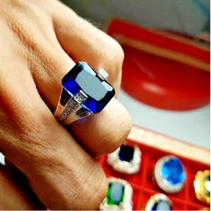 Saphire Ring, Yellow Sapphire Rings, Stone Rings For Men, Turkish Rings, Engagement Rings For Men, Cut, Gold Rings, Gems, Jewellery