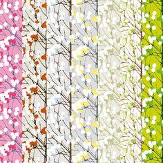 marimekko wallpaper lumimarja - Google Search