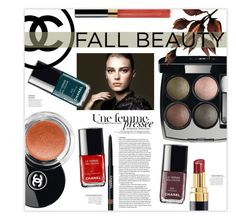 """""""Chanel Beauty: Fall 2015"""" by alisa138 ❤ liked on Polyvore featuring beauty, Chanel and beautyroutine"""