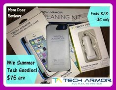 Tech Armor Mobile Protection Giveaway