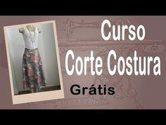 Corte e Costura passo-a-passo – Saia Midi Fácil – parte 1 | Cantinho do Video Costura em Roupas