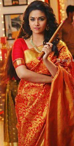Keerthy Men's Fashion, Fashion Week, Beauty Full Girl, Beauty Women, Fashion Designer, Beautiful Girl Photo, Most Beautiful Indian Actress, Saree Dress, Indian Celebrities