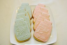 38 Trendy baby shower cookies for girl babyshower mason jars Baby Shower Brunch, Baby Shower Cakes, Best Baby Shower Favors, Baby Shower Cupcakes For Girls, Baby Girl Shower Themes, Gender Neutral Baby Shower, Baby Shower Invitations, Baby Cookies, Sugar Cookies