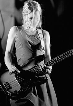 Learn this instrument. (Kim Gordon - bass player for Sonic Youth)