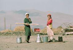 Kurds Girls in northern Kurdistan. By K.M. Westermann and Nik Wheeler