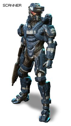HALO 4 Armor ✤ || CHARACTER DESIGN REFERENCES | キャラクターデザイン • Find more at…
