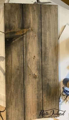 Make Your Own Shiplap Sign | Rustic Orchard Home Welcome Signs Front Door, Wooden Welcome Signs, Wooden Signs, Diy Signs, Home Signs, Barn Wood Projects, Craft Projects, Home Crafts, Fall Crafts