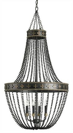 Coptic Chandelier The Shannon Koszyk Collection design by Currey & Company http://www.burkedecor.com/