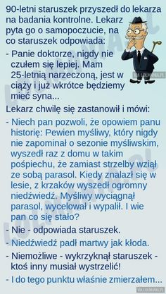 Tymczasem u lekarza… Scary Funny, Man Humor, Good Mood, Cool Things To Make, Quotations, Haha, Have Fun, Sayings, Memes