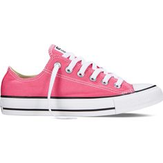 Converse Chuck Taylor All Star Fresh Colors – pink Sneakers ($40) ❤ liked on Polyvore
