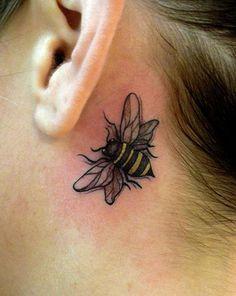 25 Fabulous Bumble Bee Tattoo Designs - 11 - Pelfind