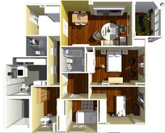 Vista general de vivienda