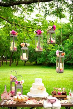 wedding candles - I would like candles in place of flowers