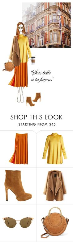 """""""Sois belle"""" by ellasophialove ❤ liked on Polyvore featuring Sonia Rykiel, Valentino, HUGO, WithChic, Ahlem and Chloé"""