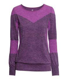 Long-sleeved yoga top $29.95   H&M US