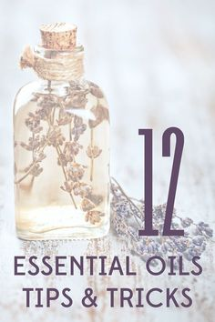 There are so many ways to use essential oils that it can be a little overwhelming. Check out these 12 tips to get you started with essential oils.