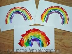 Rainbow Party Crafts and Games