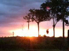 Por do sol na estação das docas em Belém Pará