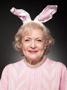 Betty White. I love her to pieces :))