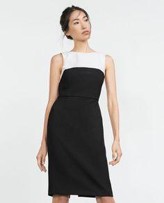 Zdjęcie 2 DWUKOLOROWA SUKIENKA z Zara http://www.zara.com/pl/pl/wyprzeda%C5%BC/kobieta/sukienki/zobacz-wi%C4%99cej/dwukolorowa-sukienka-c731609p2911039.html