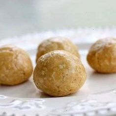 No-bake Peanut Butter Balls With Oats W/o Oil.