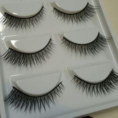 5 pair of lashes winged new in box, winged eyelashes  **not mac brand MAC Cosmetics Makeup Eyeliner