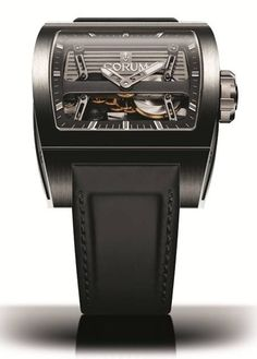 Corum Ti-Bridge Automatic Dual Winder #luxurywatch #Corum-swiss Corum Swiss Watchmakers watches #horlogerie @calibrelondon