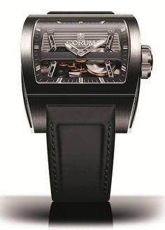 Corum Ti-Bridge Automatic Dual Winder #luxurywatch #Corum-swiss Corum Swiss Watchmakers watches #horlogerie @calibrelondon