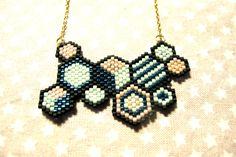 Miyuki Tissage Original : Collier par chatricotte