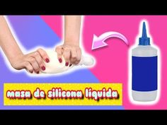masa de Silicona Líquida   GABRIELA.MC - YouTube Pasta Flexible, Flexibility, Diy And Crafts, Youtube, Personal Care, Make It Yourself, Videos, Biscuit, Natural