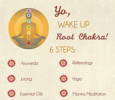 Awaken your root chakra in 6 easy steps with Ayurveda, Green Juicing ...