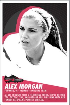 Alex Morgan. I love her so much