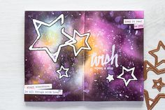 Incorporate your art journal with dies from Seth Apter Collection by Spellbinders. Let Yana Smakula show you how in her video tutorial.